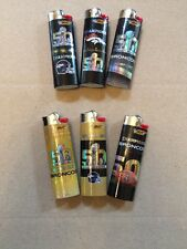 DENVER BRONCOS Bic Collectible 50th Anniversary Super Bowl LIGHTERS PICK (3) NEW