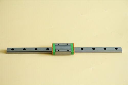 MGN12H Linear Sliding Rail 250-550mm With Linear Bearing For CNC 3D Printer DIY