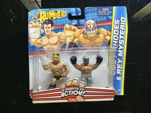 WWE Wrestling Rumblers Cody Rhodes /& Rey Mysterio