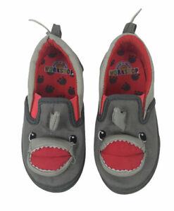 Boys Shark Slip On Shoes Size 8 Build a Bear Workshop