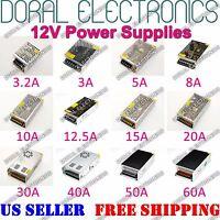 Dc 12v 3a To 60a Amp 110v 220v Power Supply Led Strip Light 12 V Volt 110 220 Ac