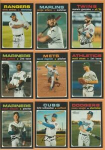 2020-Topps-Heritage-High-Number-SP-Lot-PICK-5-Stars-amp-All-Star-Rookies