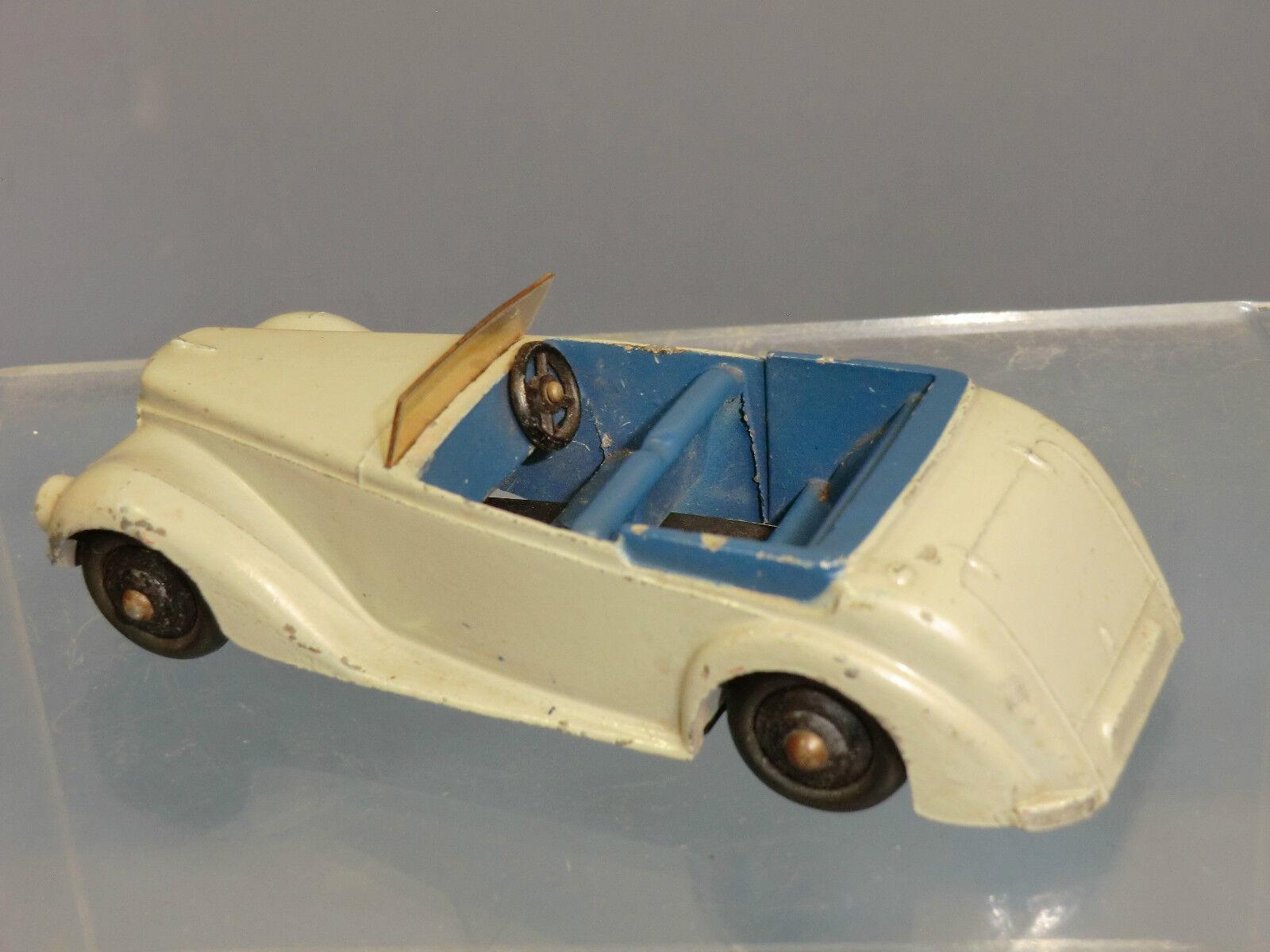 Vintage DINKY TOYS modèle No.38e ARMSTRONG SIDDELEY COUPÉ DE DE DE SPORT