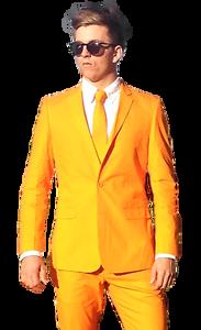 Tuta ARANCIONE COLORATO e vivace abiti da sera Vestito Wacky Tuta Stag Tuta Tute Crazy