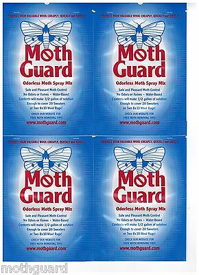 Mothproofing Completely Odorless 4 Pack Discount!