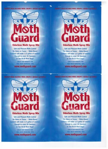COMPLETELY ODORLESS MOTHPROOFING
