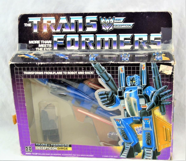 Transformers Original G1 1985 completo con caja y burbuja fúnebre buena figura