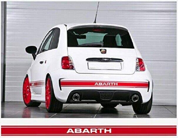Fiat 500 ABARTH assetto corse Sticker Graphics Decals FIAT ABARTH
