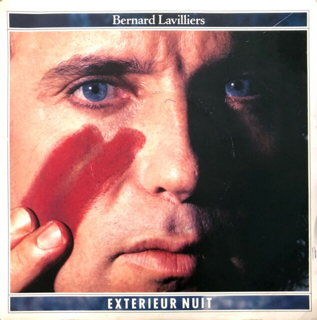 """Bernard Lavilliers 7"""" Extérieur Nuit - France (VG+/VG+)"""