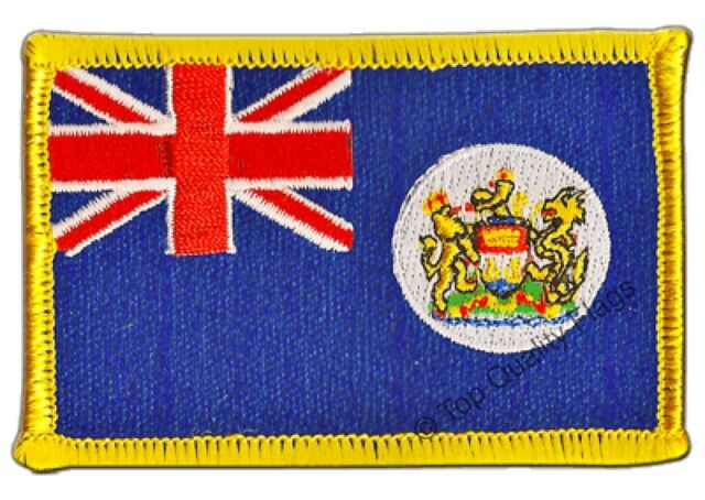 USA Illinois Flag EMBROIDERED PATCH 8x6cm Badge