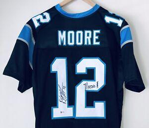 D.J. Moore Signed Carolina Panthers Autographed Football Jersey ...