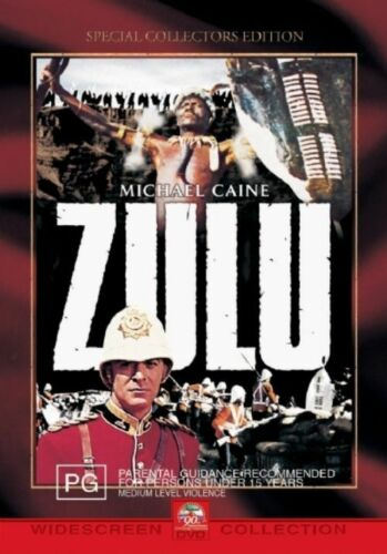 1 of 1 - Zulu (DVD, 2002) Region 4 Action Adventure DVD Rated PG Used Like NEW Condition