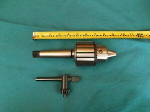 3-4-DRILL-CHUCK-with-ARBOR-FOR-JET-JDP-20-MF-DRILL-PRESS