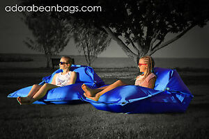 Prime Details About Bean Bag Indoor Outdoor Heavy Duty 1680D Day Bed Camping Boat Beach Adora Alphanode Cool Chair Designs And Ideas Alphanodeonline