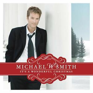 Michael-W-Smith-It-039-s-A-Wonderful-Christmas-CD-1976181
