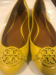 TORY BURCH 34277 Yellow Abby Ballet