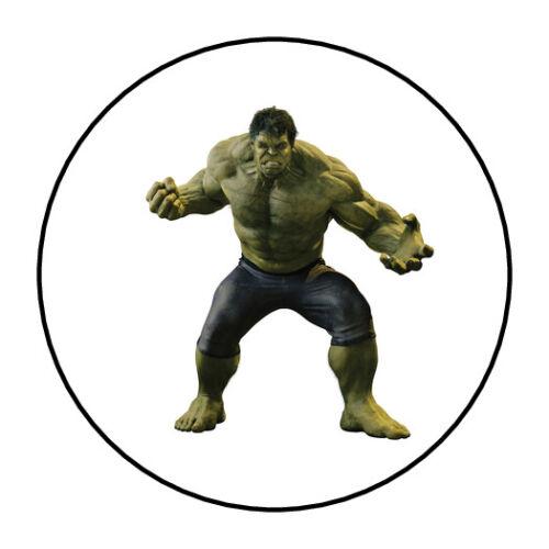 "Avengers stickers envelope seals 1.5/"" round 30 Hulk"