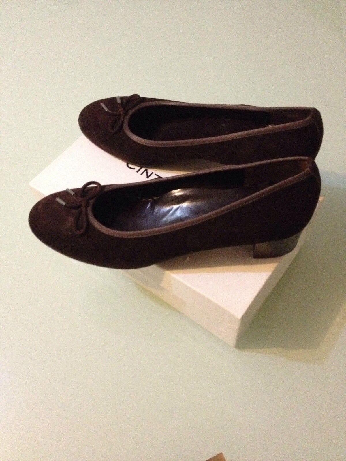 CINZIA VALLE confort DAMEN in LEDER LUXUS SCHUHE GR41 made in DAMEN ITALY. 85c9a3