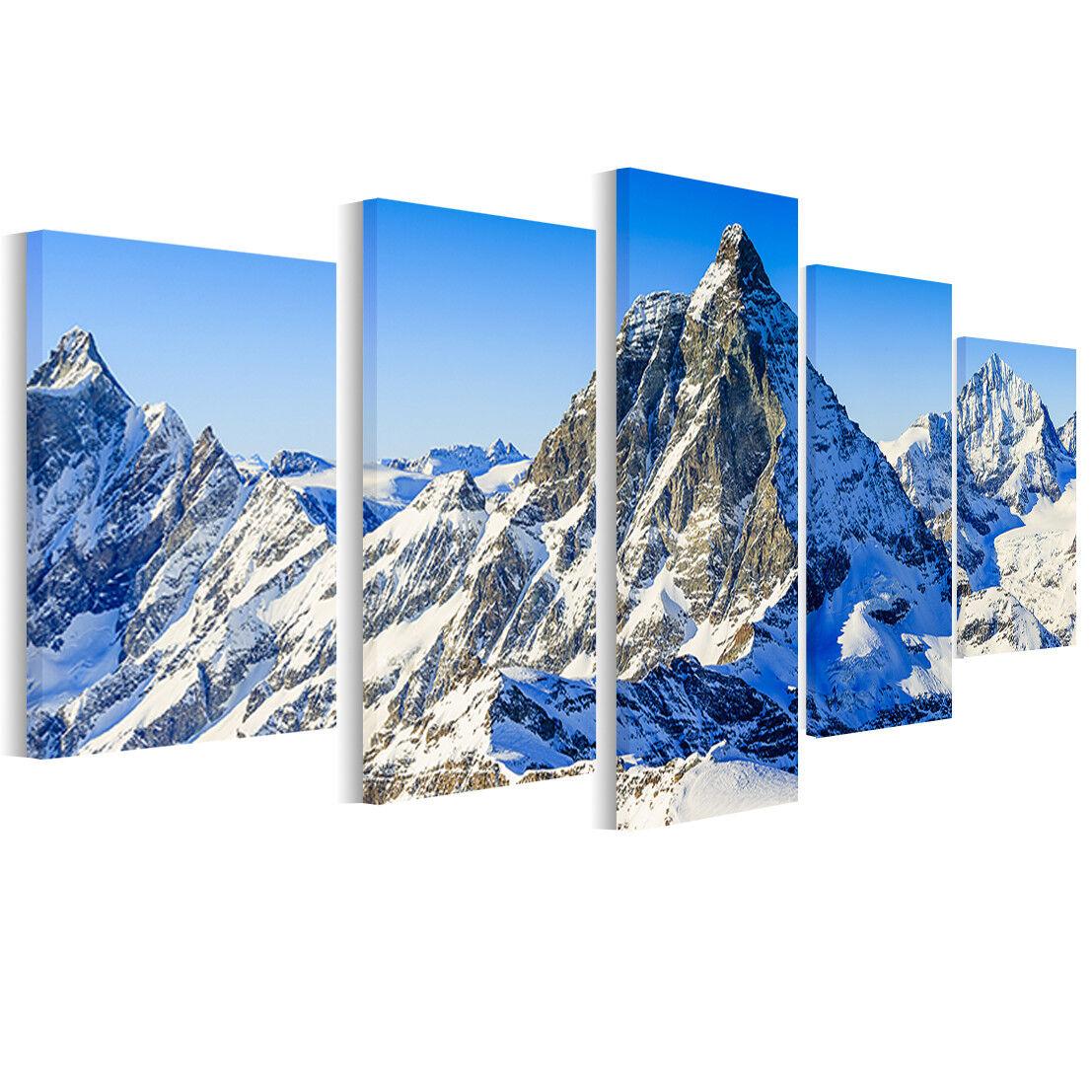 Leinwand Bilder Alpen Matterhorn - Foto, Bild, Wandbilder Landschaft B5D29
