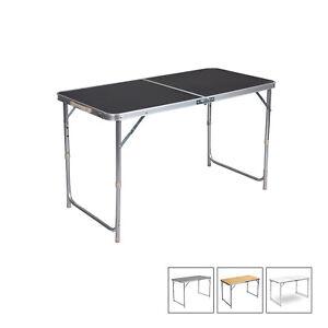 Campingtisch Gartentisch.Details Zu Campingtisch Gartentisch Arbeitstisch Balkotisch Höhenverstellbar Klappbar 1272