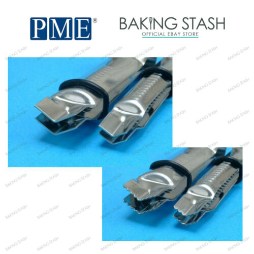 Icing Crimping Embosser PME Cake Icing Crimper Tool Full Range All Sizes