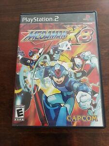 Megaman-X8-Complete-in-Box-Playstation-2-PS2-CIB-Rare