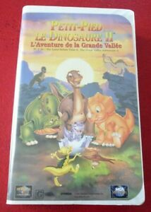 VHS-French-Movie-Petit-Pied-le-Dinosaure-II-Universal-Pictures