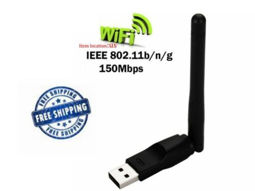 RT5370 USB WiFi Adapter Dongle W// Antenna FOR MAG250//254//255//270//257//350//352//260