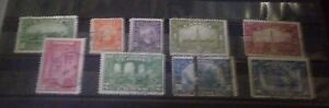 Canada Scott 141-145,158-159,215, and 241. Very Nice lot of Older Canada!
