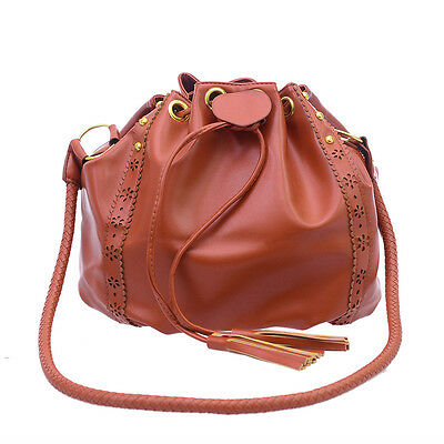 Women Leather Handbag Shoulder Bag Tote Purse Messenger Crossbody Hobo Satchel