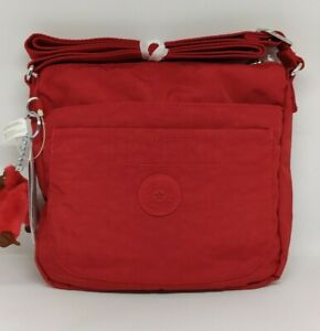 KIPLING-SEBASTIAN-Crossbody-Bag-in-Cherry-Color