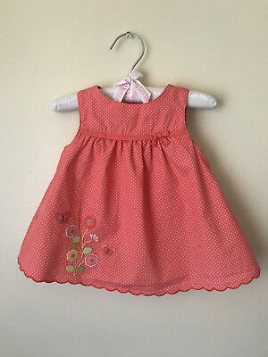 Newborn Toddler Baby Girl Solid Flower Butterfly Backless Casual Dress Clothes S