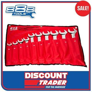 888-Tools-by-SP-Jumbo-Combination-Spanner-Set-10-Piece-Metric-T810020