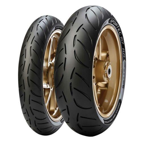 Motorcycle Tyres /& 190//55 ZR17 58W 75W Metzeler Sportec M7 RR 120//70 ZR17