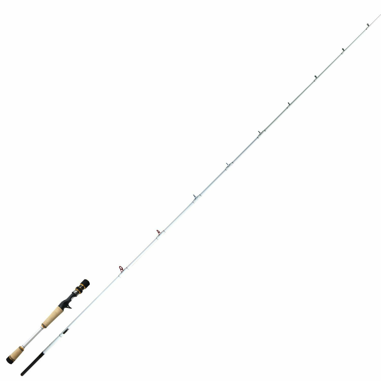 Shooting estrella II c66mh baitcast canna da pesca 1,96m 730g Pesce Persico Luccio Persico