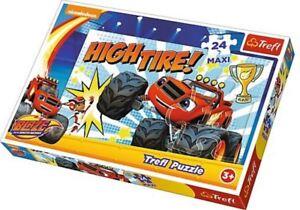 Trefl-Flamber-Monster-Machines-Haut-Pneu-24-Piece-Maxi-Puzzle