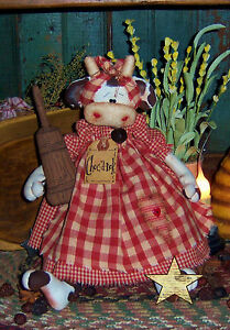 Primitive-Raggedy-Cow-Doll-Churn-Ornie-Paper-Pattern-344