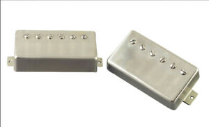 PAF-Humbucker-Pickup-Set-4-conductor-wiring-Aged-Nickel-Covers-Coil-Tap