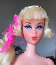 Gorgeous 1968 Vintage Blonde Talking Barbie Doll MINT