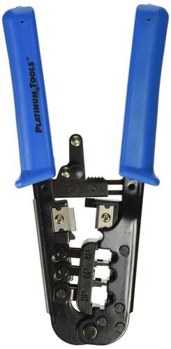 Platinum Tools Platinum 12503C All-In-One Modular Plug Crimp Tool Clamshell