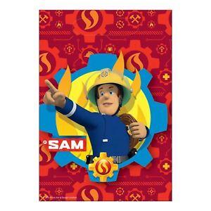 8-Paquets-Sam-le-Pompier-Sacs-Butins-Enfants-Anniversaire-Cadeau-Fete-Sac-Cadeau