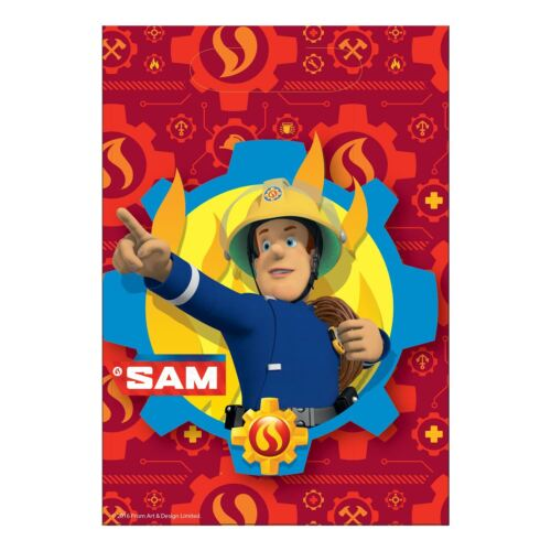 8pk Fireman Sam Loot Bags Childrens Birthday Party Favours Gift Bag
