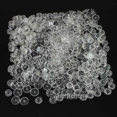 Lot De 100 Boutons De Pression Résine Transparent KAM Taille 20 T5