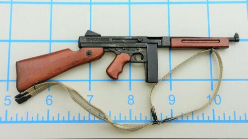 DID deuxième guerre mondiale nous Bryan police militaire bois N Métal Thompson 1//6 Toys soldat fusil Pistolets mitrailleurs