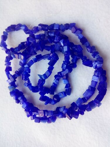 """34/"""" version couleur Oeil de Chat/'s Chip Glass Loose Beads Jewelry marquage Supply"""