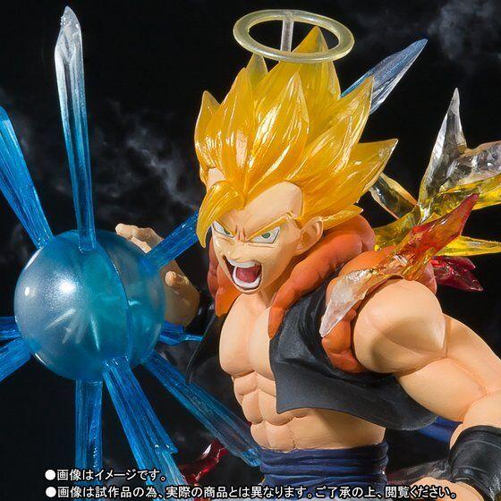 Bandai Figuarts Zero Dragon Ball Z súper Saiyan Gogeta de versión japonesa