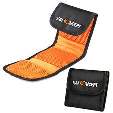 Filter Wallet Tasche 3 Fächer Schutzhüllen Filtertasche K&F Concept Filtertasche