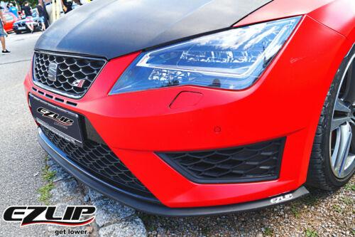 Original EZ-Lip Front Becquet Spoiler Lèvre Pour Seat Leon Tuning Spoiler ST FR