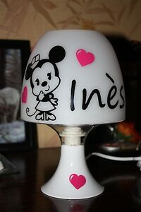Lampe-de-chevet-Minnie-Prenom
