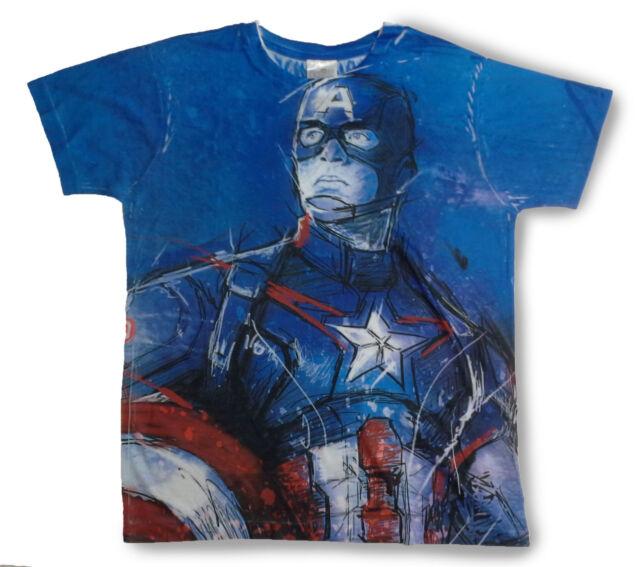 7f49c808 Marvel Avengers Captain America Civil War T Shirt 14 Years for sale ...